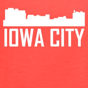 Iowa City Iowa City Skyline - Women's Flowy Tank Top by Bella