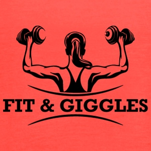 FiT and Giggles - Women's Flowy Tank Top by Bella