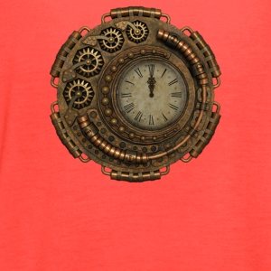 Steampunk Clock - Women's Flowy Tank Top by Bella