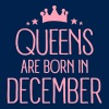 Queens Are Born In December - Women's Flowy Tank Top by Bella