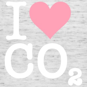 I Love CO2 - Women's Flowy Tank Top by Bella