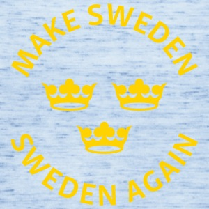 Make Sweden Sweden Again - Women's Flowy Tank Top by Bella