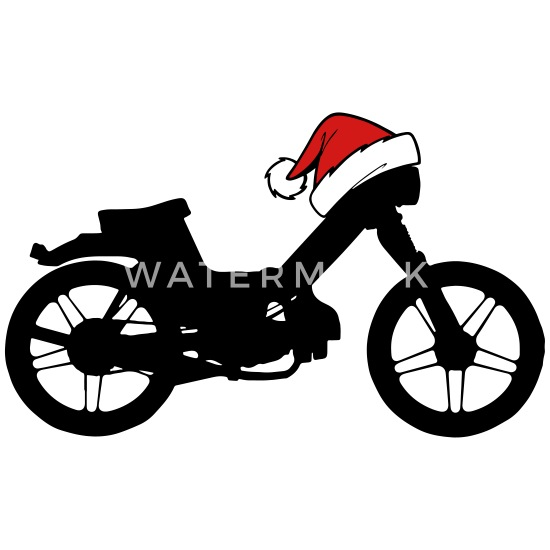 Puch Maxi Moped Motorcycle Christmas Xmas gift Water Bottle - white