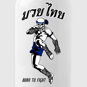 Muay Thai Skull - Water Bottle