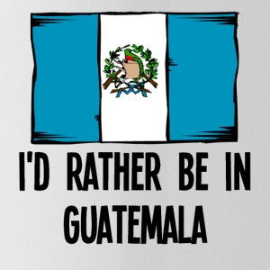I'd Rather Be In Guatemala - Water Bottle