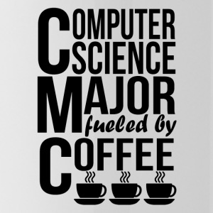 Computer Science Major Fueled By Coffee - Water Bottle