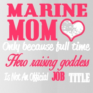 MARINE MOM SHIRT - Water Bottle