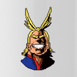All Might Pixel - Water Bottle