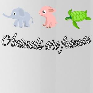 Animals are friends - Water Bottle