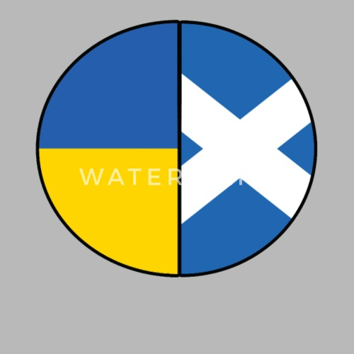 Scottish And Ukrainian Flags Pie Chart By Timeforapparel Spreadshirt