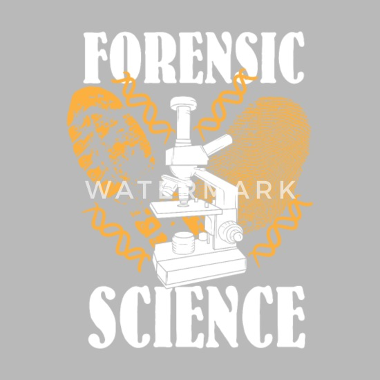 Forensic Science Shirt Detective Crime Scene Gifts Water Bottle Spreadshirt