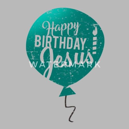Happy Birthday Jesus True Meaning Of Christmas Water Bottle