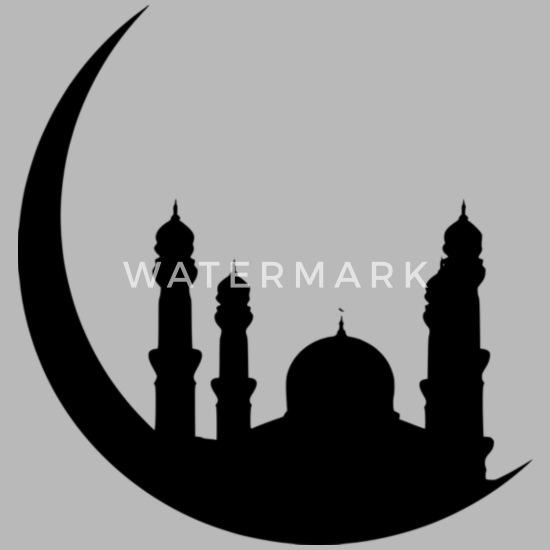 Ramadan Islam T-Shirt Muslim Arabic Water Bottle | Spreadshirt