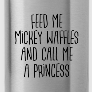 Mickey Waffle Princess - Water Bottle