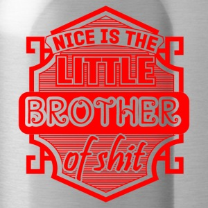 GIFT - LITTLE BROTHER RED - Water Bottle