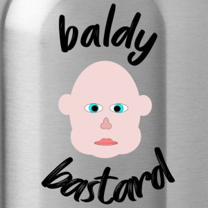 baldy bastard - Water Bottle