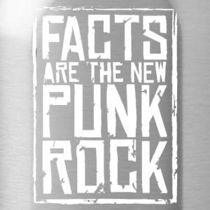FACTS ARE THE NEW PUNK ROCK haz d mujica - Water Bottle