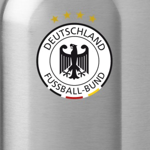 Soccer german sign - Water Bottle