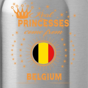 love princesses come from BELGIUM - Water Bottle