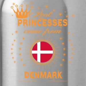 love princesses come from DENMARK - Water Bottle