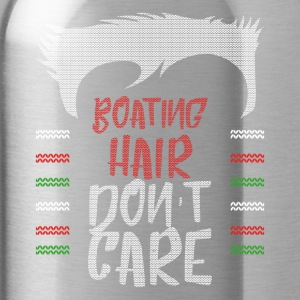 Ugly sweater christmas gift for boating - Water Bottle