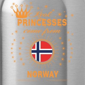 love princesses come from NORWAY - Water Bottle
