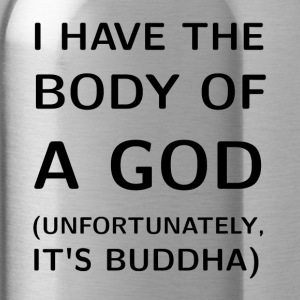 Body of a God Buddha - Water Bottle
