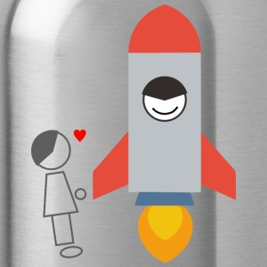 rocket - Water Bottle