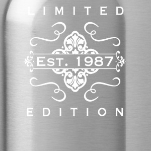 Limited Edition Est 1987 - Water Bottle