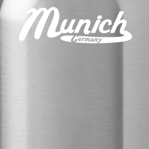 Munich Germany Vintage Logo - Water Bottle