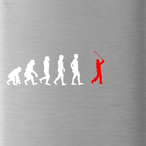 EVOLUTION golf sports golfer caddi - Water Bottle