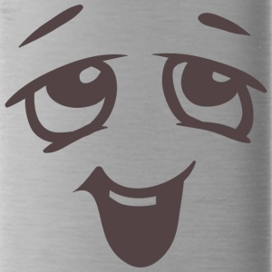 Relaxed face - Emotional face - Water Bottle