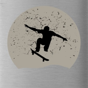 Skateboarding Full Moon - Water Bottle