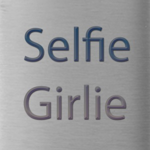 selfie-girlie - Water Bottle