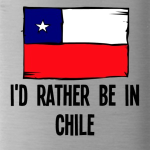 I'd Rather Be In Chile - Water Bottle