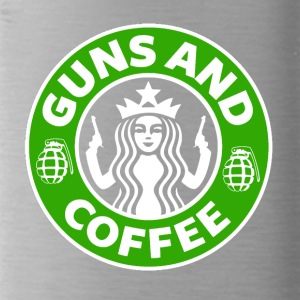 Guns and Coffee - Water Bottle