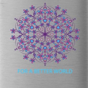 For a better world - Water Bottle