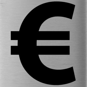 Euro Sign - Water Bottle