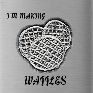 I'm Making Waffles - Water Bottle