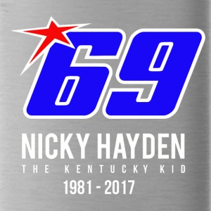 nicky Hayden RIP - Water Bottle