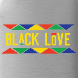 Black Love (Yellow Letters) - Water Bottle