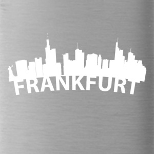 Arc Skyline Of Frankfurt Germany - Water Bottle
