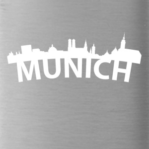 Arc Skyline Of Munich Germany - Water Bottle
