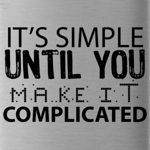 SIMPLE COMPLICATED - Water Bottle