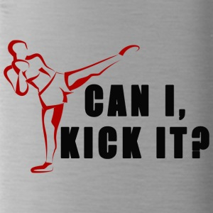 Can I Kick it - Water Bottle