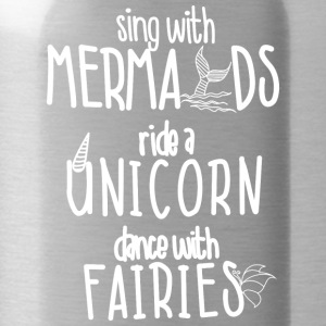 Sing with Mermaids Ride a Unicorn Dance with Fairi - Water Bottle