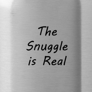 The-Snuggle-is-Real - Water Bottle