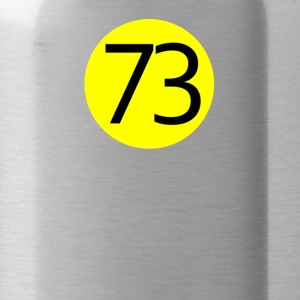 73 the perfect number T-Shirt the Big Bang Theory - Water Bottle