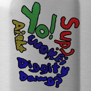 Moomaw_Text_Outlined - Water Bottle