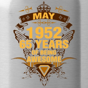 May 1952 65 Years of Being Awesome - Water Bottle